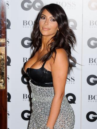Kim Kardashian arrives for the GQ Men Of The Year Awards.