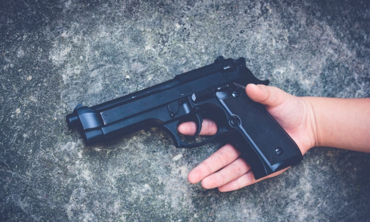 QLD boy shoots sister playing with gun