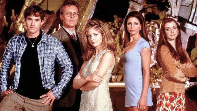 The Cast of Buffy. Photo: Supplied