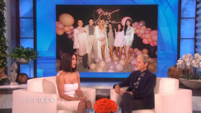 Kim spoke about what the family think of the drama. Photo: Ellen