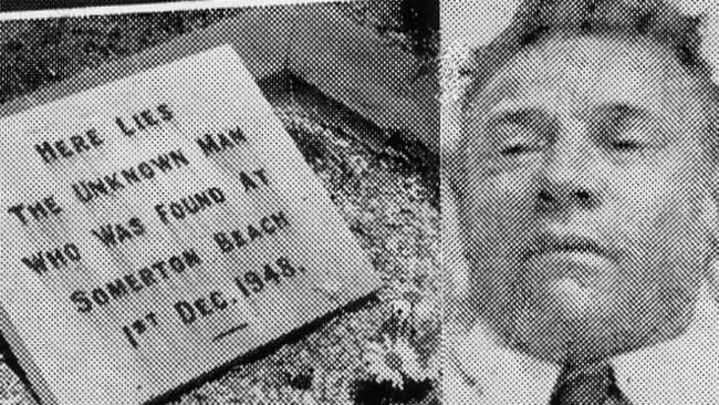Mystery of body of an unknown unidentified man found dead on Somerton Beach on December 1, 1948.