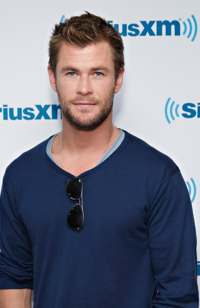 Actor Chris Hemsworth is patron of the Australian Childhood Foundation and will be guest at the screening of his film, In The Heart of The Sea on Tuesday (Photo by Cindy Ord/Getty Images for SiriusXM)