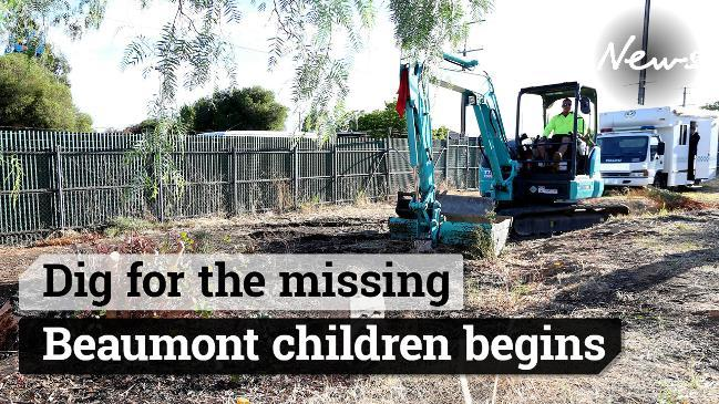 Dig for the missing Beaumont children begins