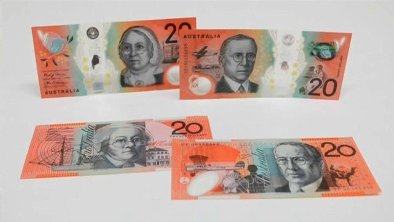 New $20 note unveiled