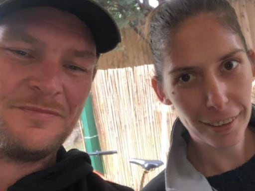 Helena Broadbent with her brother Paul. Picture: 7 News