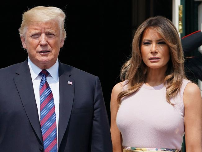Melania Trump furious with Donald Trump over 'p***y tape'