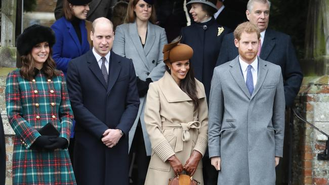 Prince Andrew attended the Sandringham church service with other members of the royal family last Christmas. Picture: Chris Jackson/Getty Images