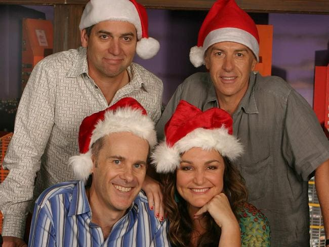 The Panel recorded several Christmas specials.