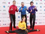 The Wiggles have a lauh on the red carpet at the 2015 ARIA Awards.. Picture: Dylan Robinson