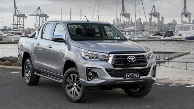 The Toyota HiLux now comes with long awaited standard safety kit. Picture: Supplied.