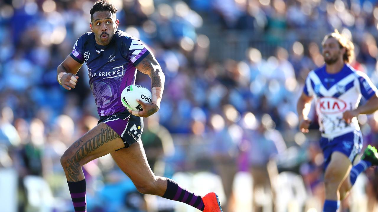 Josh Addo-Carr looks set to join the Bulldogs.