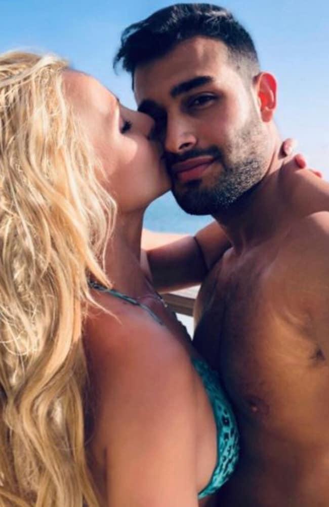 Britney Spears is dating model Sam Asghari. Picture: Instagram