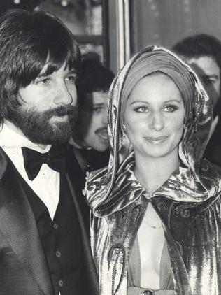 Jon Peters with former love, Barbra Streisand. Picture: Supplied