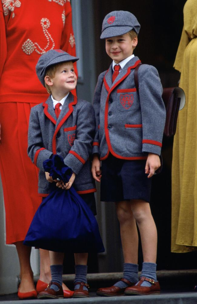 As children, Prince William and Prince Harry were taught to understand the important roles they had been born into. Picture: Tim Graham/Getty Images.