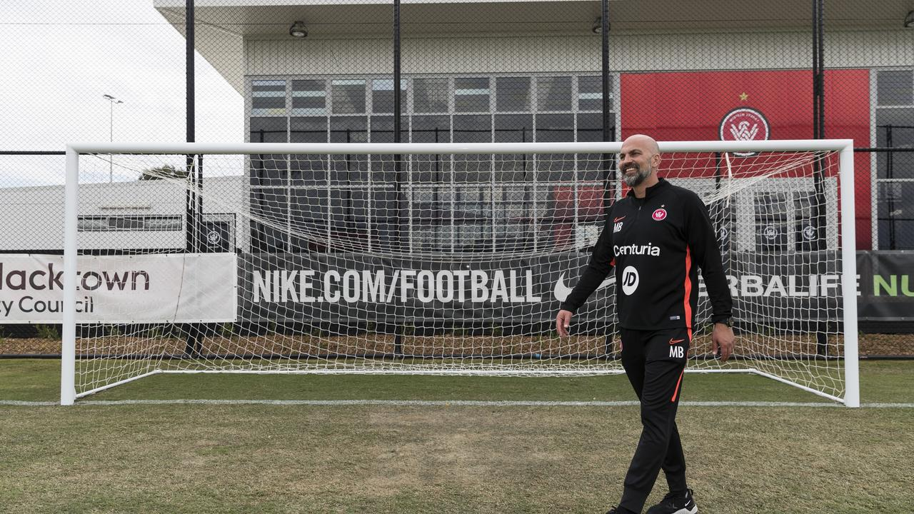 WSW Head Coach Markus Babbel at the Western Sydney Wanderers Centre of Football opening. (Photo by Brook Mitchell/Getty Images)