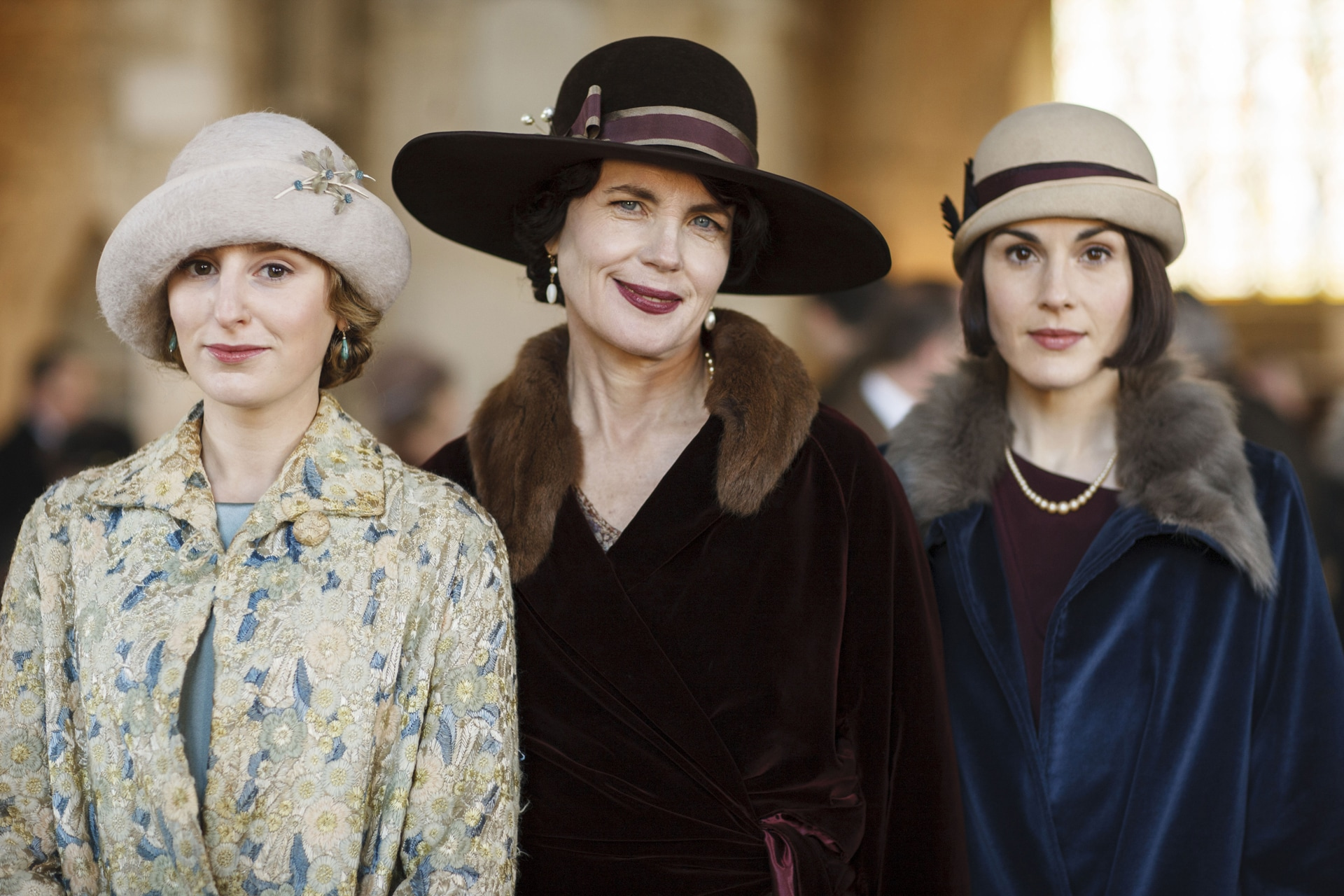 Downton Abbey's original cast is reuniting for a movie
