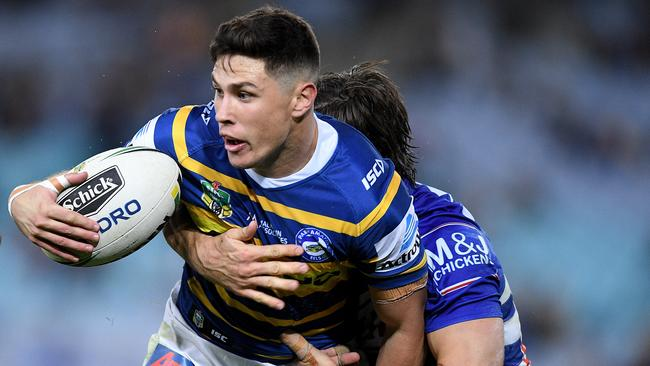 Mitchell Moses in action for the Eels.