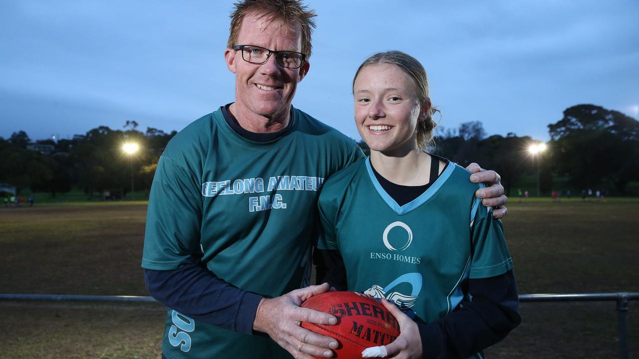 Mackenzie McGrath's burning AFLW dream | Geelong Advertiser