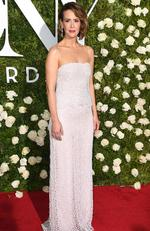 Sarah Paulson attends the 2017 Tony Awards - Red Carpet at Radio City Music Hall on June 11, 2017 in New York City. Picture: AFP PHOTO / ANGELA WEISS