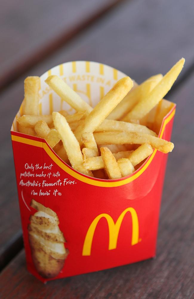 Will eating these fries get you a bun in the McOven?