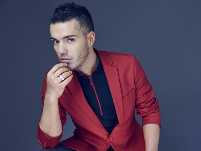 Anthony Callea will performs his new show ARIA number one hits at the State Theatre tonight. Picture: Supplied