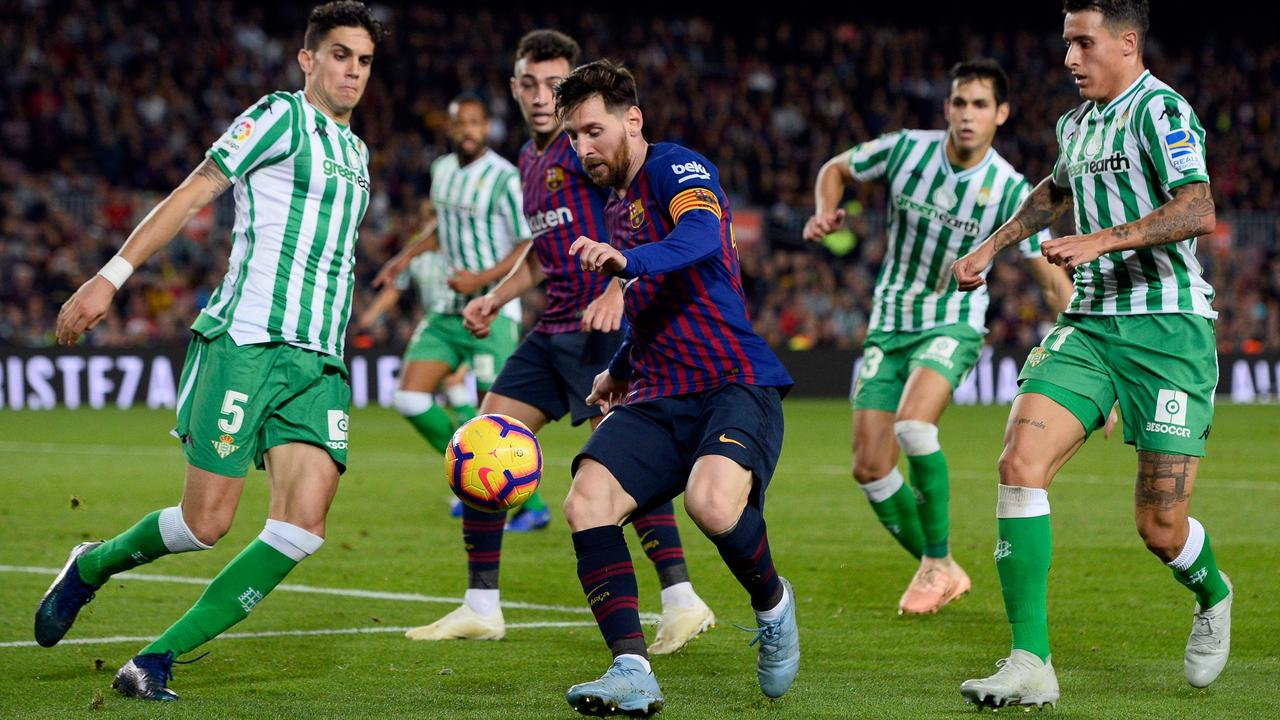 Messi's stunning displays over the past decade have led to many claiming the Barcelona superstar has overtaken Pele and Maradona as the game's greatest ever.