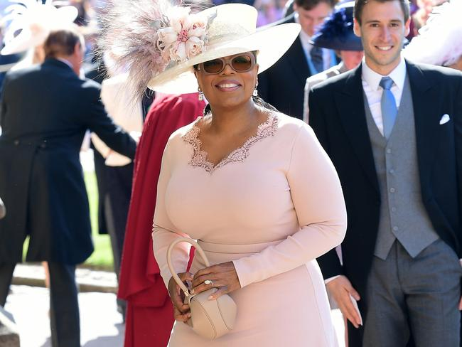 Sources claim the couple's new accommodation was teed up by American talk show queen Oprah Winfrey, who was one of many famous faces in attendance at the couple's 2018 nuptials. Picture: Ian West/PA Wire