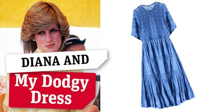 Princess Diana and my dodgy dress