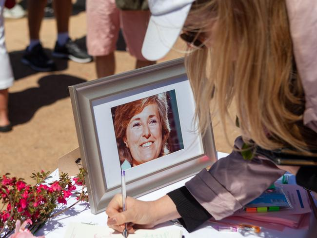 The probable death of Chris's wife Lyn has captured global attention. Picture: AAP/Jordan Shields