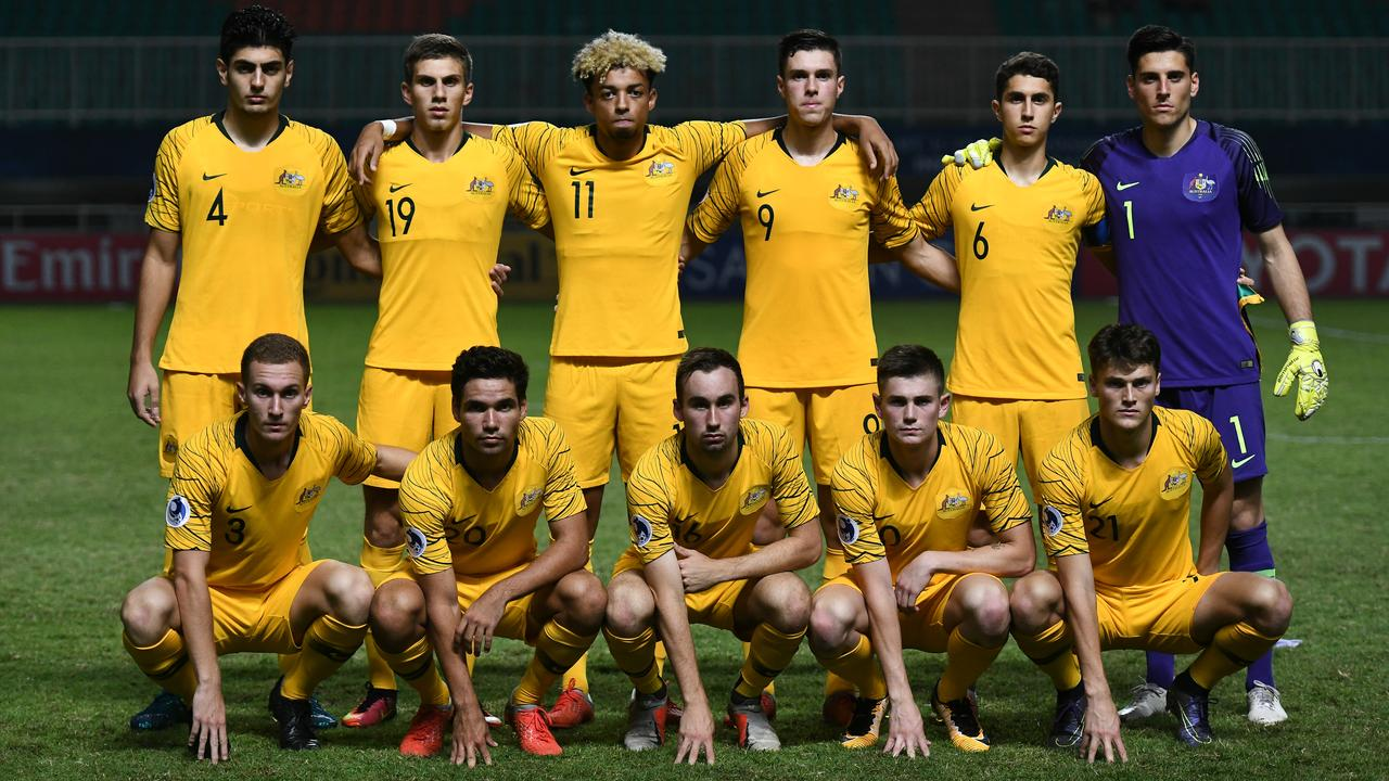 The Young Socceroos. Photo: Asian Football Confederation