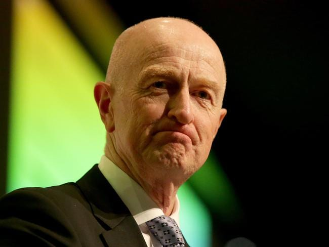 """Growth ... Reserve Bank governor Glenn Stevens said """"Forecasts for global growth in 2015 envisage continued moderate growth"""". Picture: Supplied."""