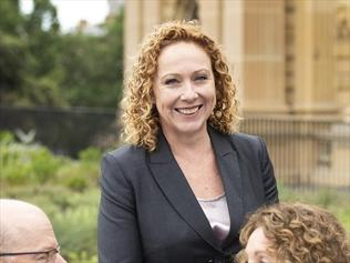 Melissa Horne says a rejigged schedule in which some trains run slower, is good for Vic commuters.