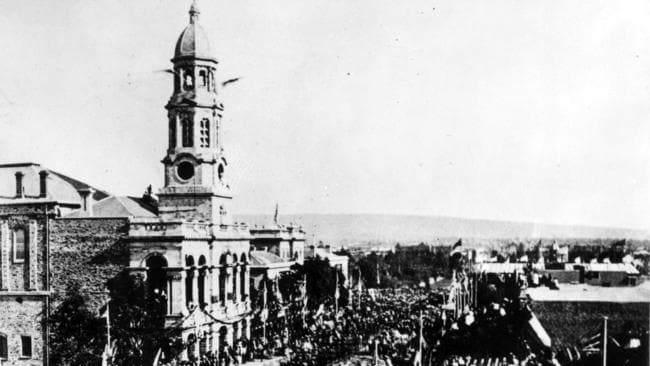 SA history: Adelaide in the 1850s, 1860s, 1870s and 1880s