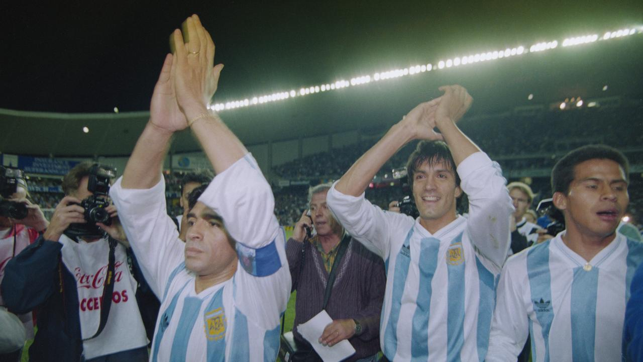 Diego Maradona returned to lead Argentina to the World Cup again.