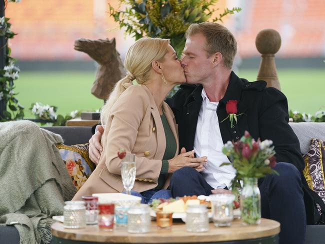 Jarrod Woodgate hopes to win Sophie Monk's heart on The Bachelorette. Picture: Ten