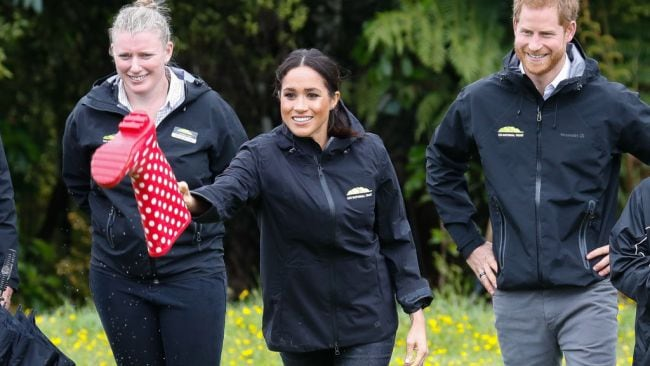 Meghan is a natural welly wanger. Source: Getty Images