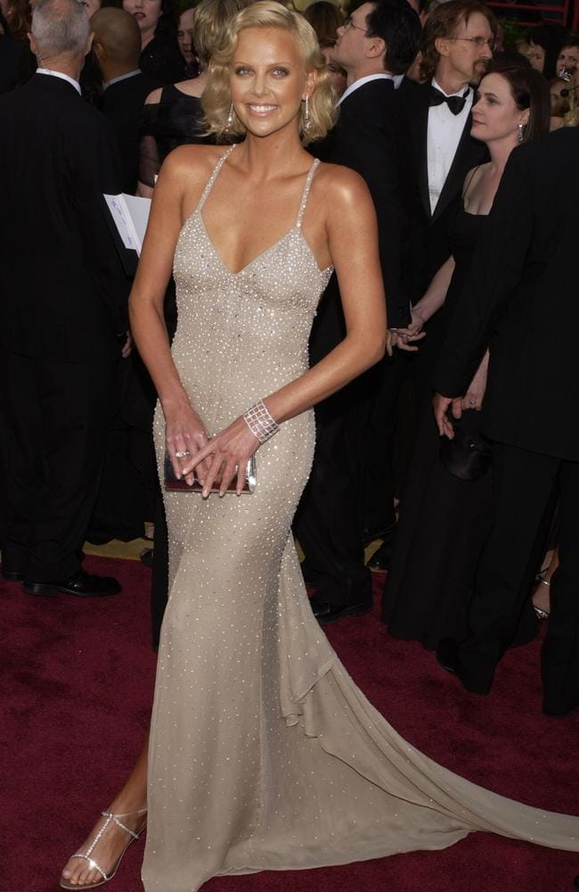 Theron has been open about having therapy in her late 20s. Here, she attends the 2014 Annual Academy Awards. Picture: Getty Images.