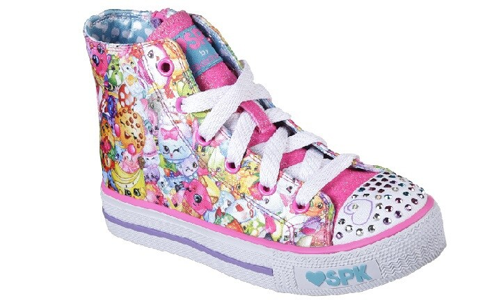 Skechers Shopkins shoes. Image: supplied.