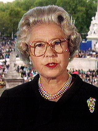The Queen eventually put the Union Flag at half mast and paid tribute to the Princess of Wales during a televised speech.