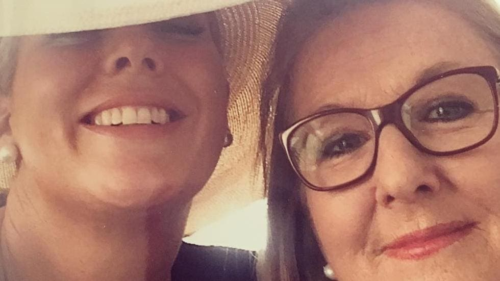 The Sunrise host delivered an emotional eulogy at her mother's funeral on Friday.
