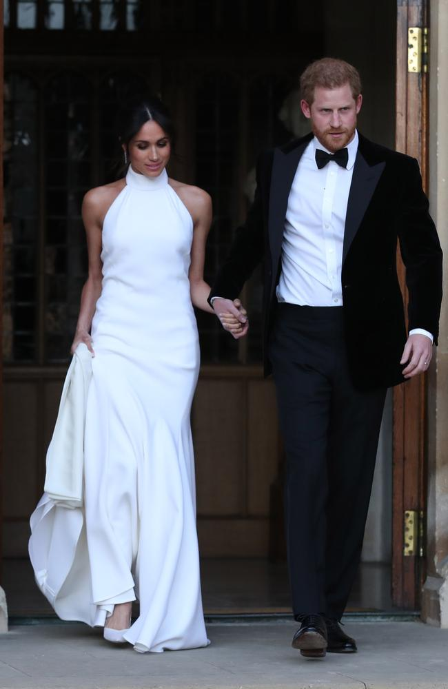 Charles' nickname is inspired by Meghan's relationship with Harry. Picture: Steve Parsons — WPA Pool/Getty Images