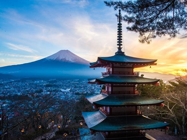 Get a quick culture-fix in Japan.