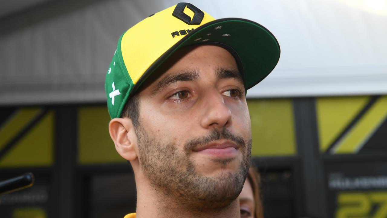 Daniel Ricciardo was visibly exhausted after a disappointing weekend in Melbourne.