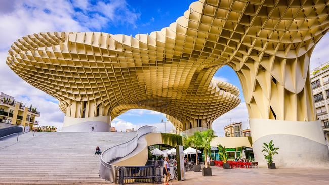 Seville's iconic Metropol Parasol building. Picture: iStock