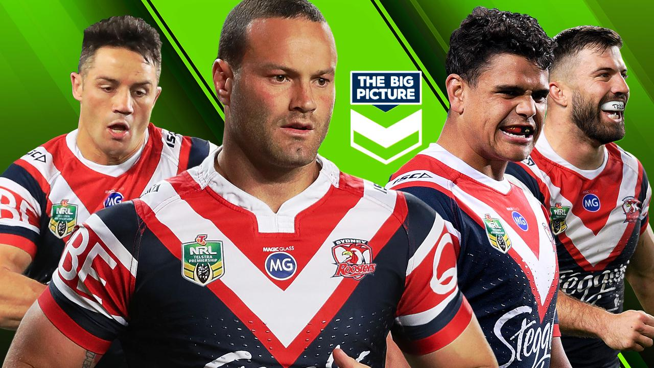 Cooper Cronk, Boyd Cordner, Latrell Mitchell and James Tedesco.