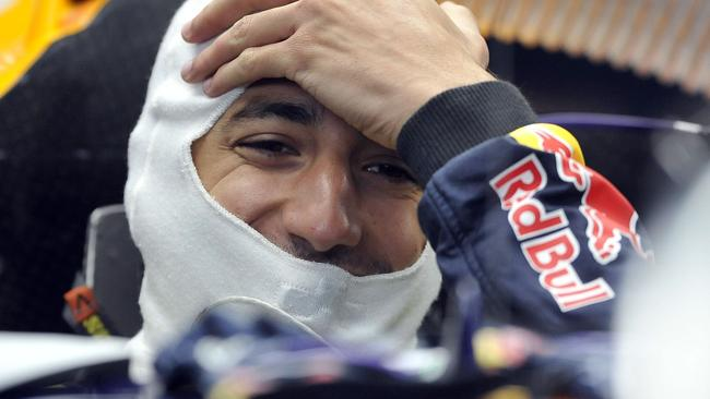 Ricciardo endured a tough race to finish eighth.