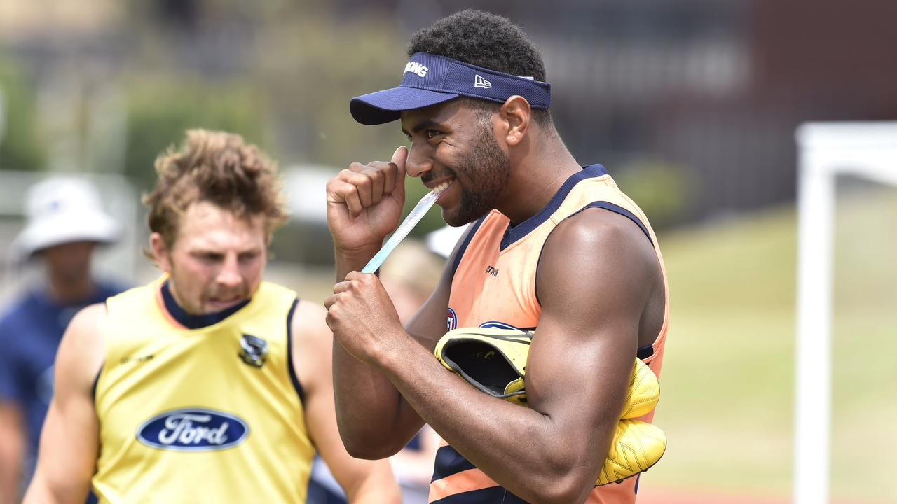 Esava Ratugolea will be a key member of Geelong's best 22. Picture: Alan Barber