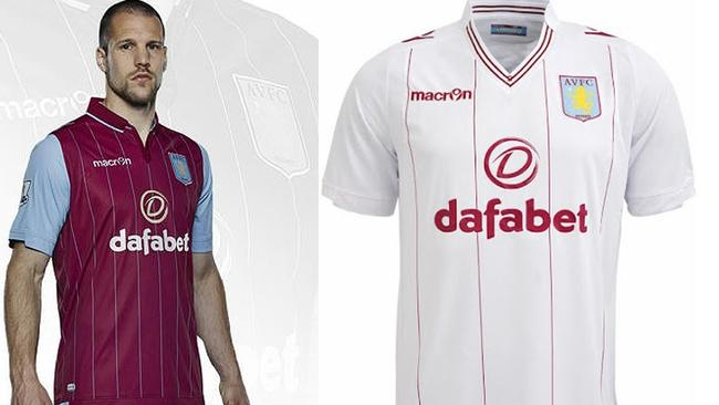 A collar for the home strip and a V neck for the away ... we're a fan of the Villians' Macron number.  <b>BURNLEY</b> <b></b>