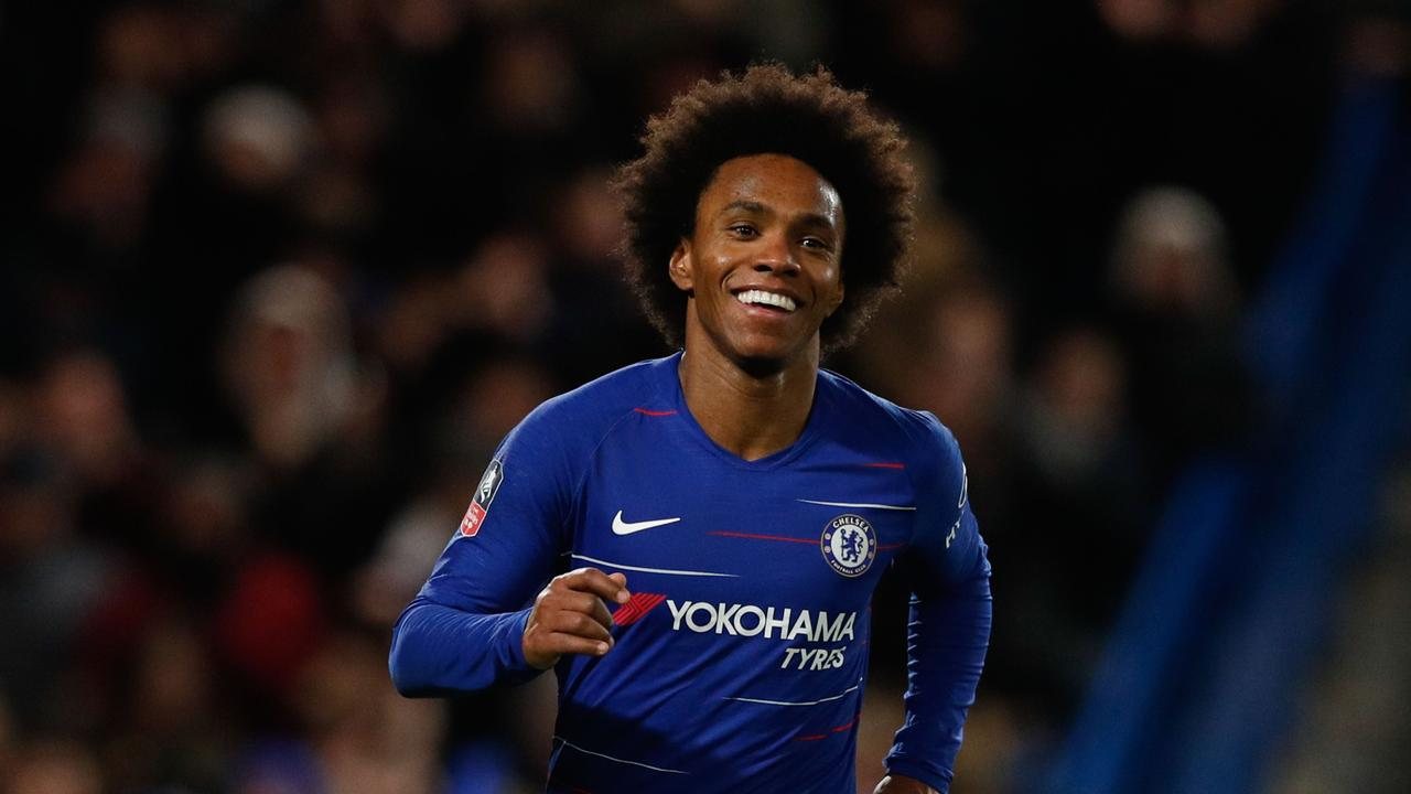 Willian has been linked with a move away from Stamford Bridge.