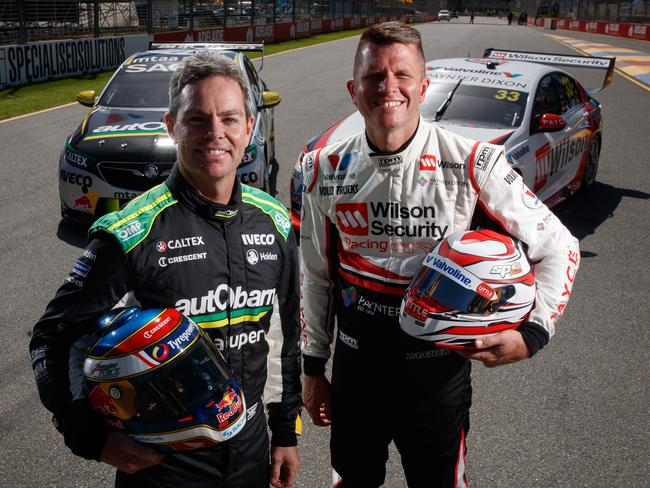 Veterans Craig Lowndes and Garth Tander are Adelaide fixtures. Picture Matt Turner